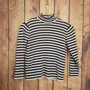 Lauren Ralph Lauren black white sweater size ?XL?